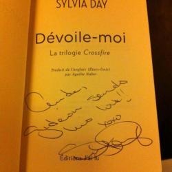 Dédicace de Sylvia Day