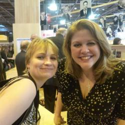 CJ Daugherty (salon du livre de Paris mars 2013)