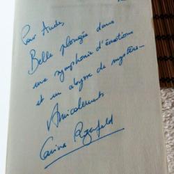 Dédicace de Carina Rozenfeld pour la Symphonie des abysses