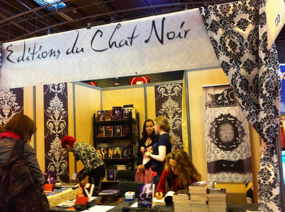 Stand des Editions du Chat Noir