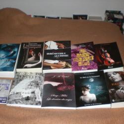 Les livres dédicacés au salon du livre 2012