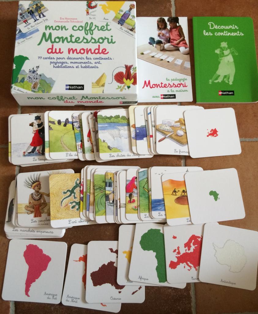 Mon coffret Montessori du monde extrait 1
