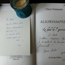 Dédicace livre avec Chloé Delalandre 1.2