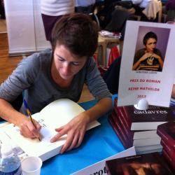 Rencontre au Salon de Livre de Cheux (10/11/13) avec Dorothée Lizion