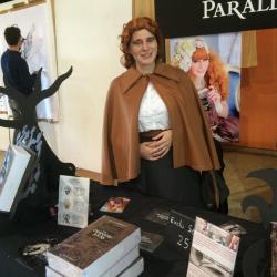 Stand de l'auteur Isabelle Derighetti