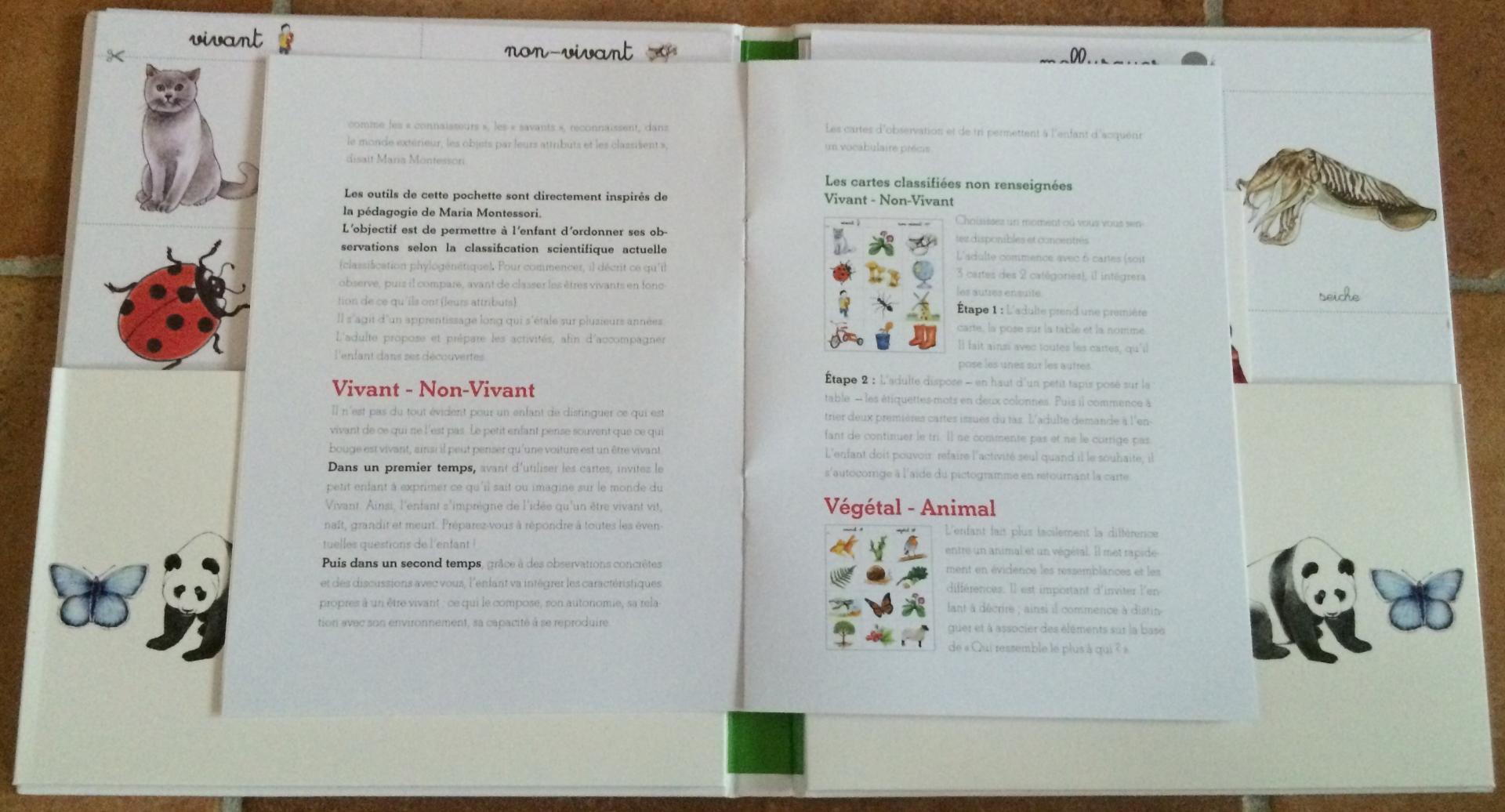 Extrait 1 ma pochette Montessori la nature