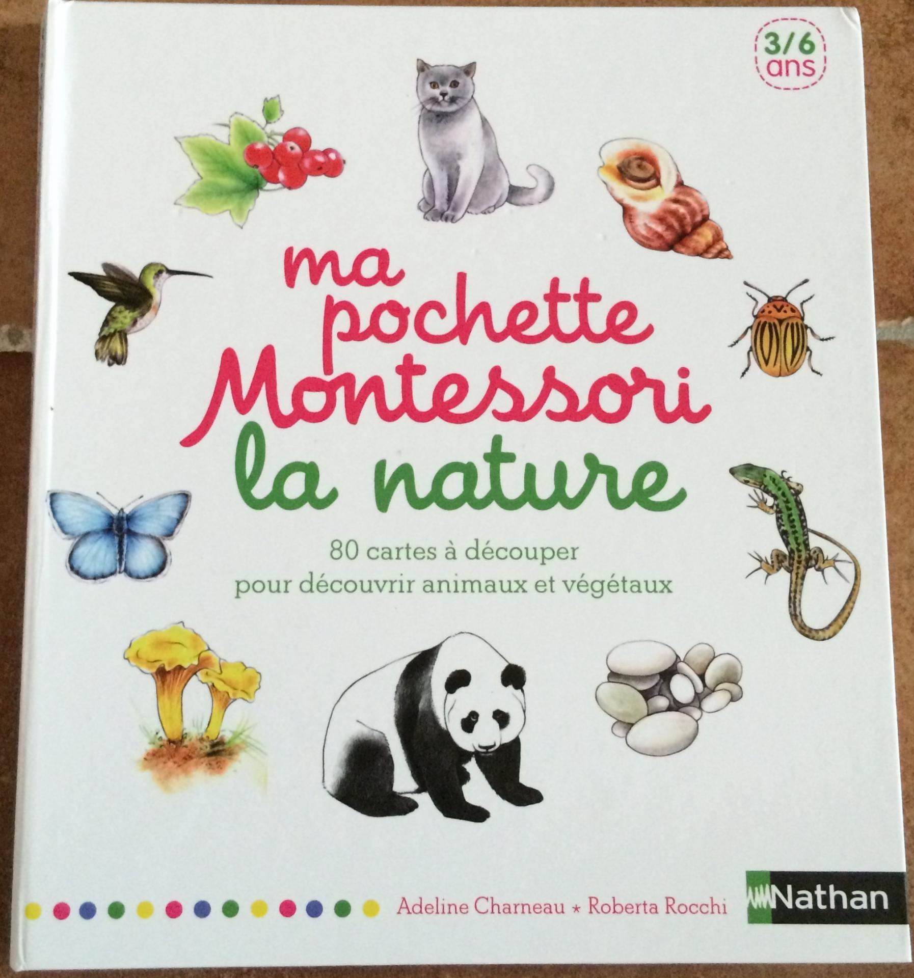Ma pochette Montessori: la nature