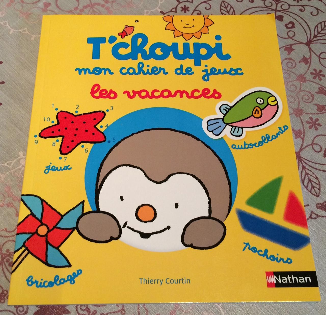 mon cahier de jeux