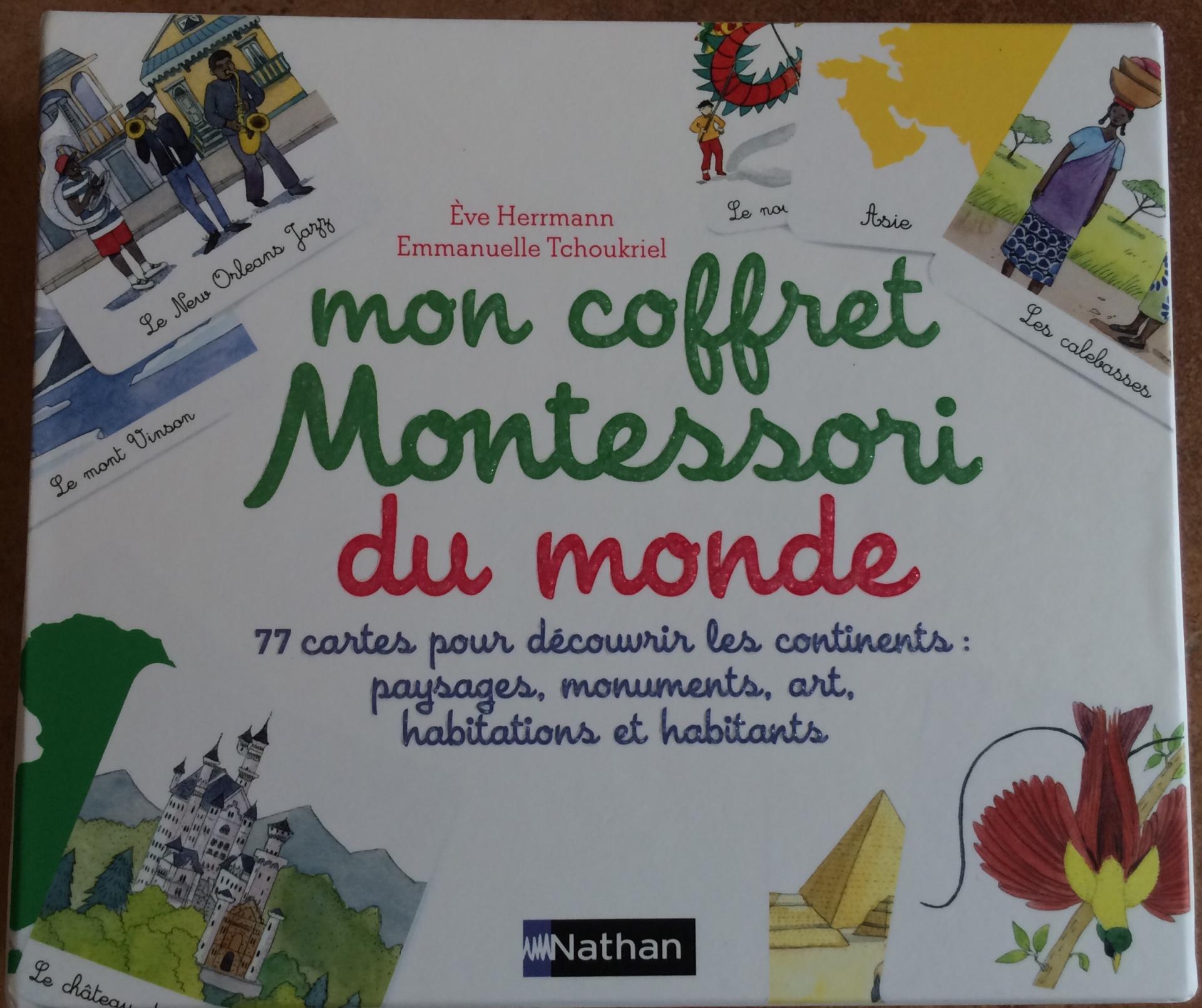 Mon coffret Montessori du monde
