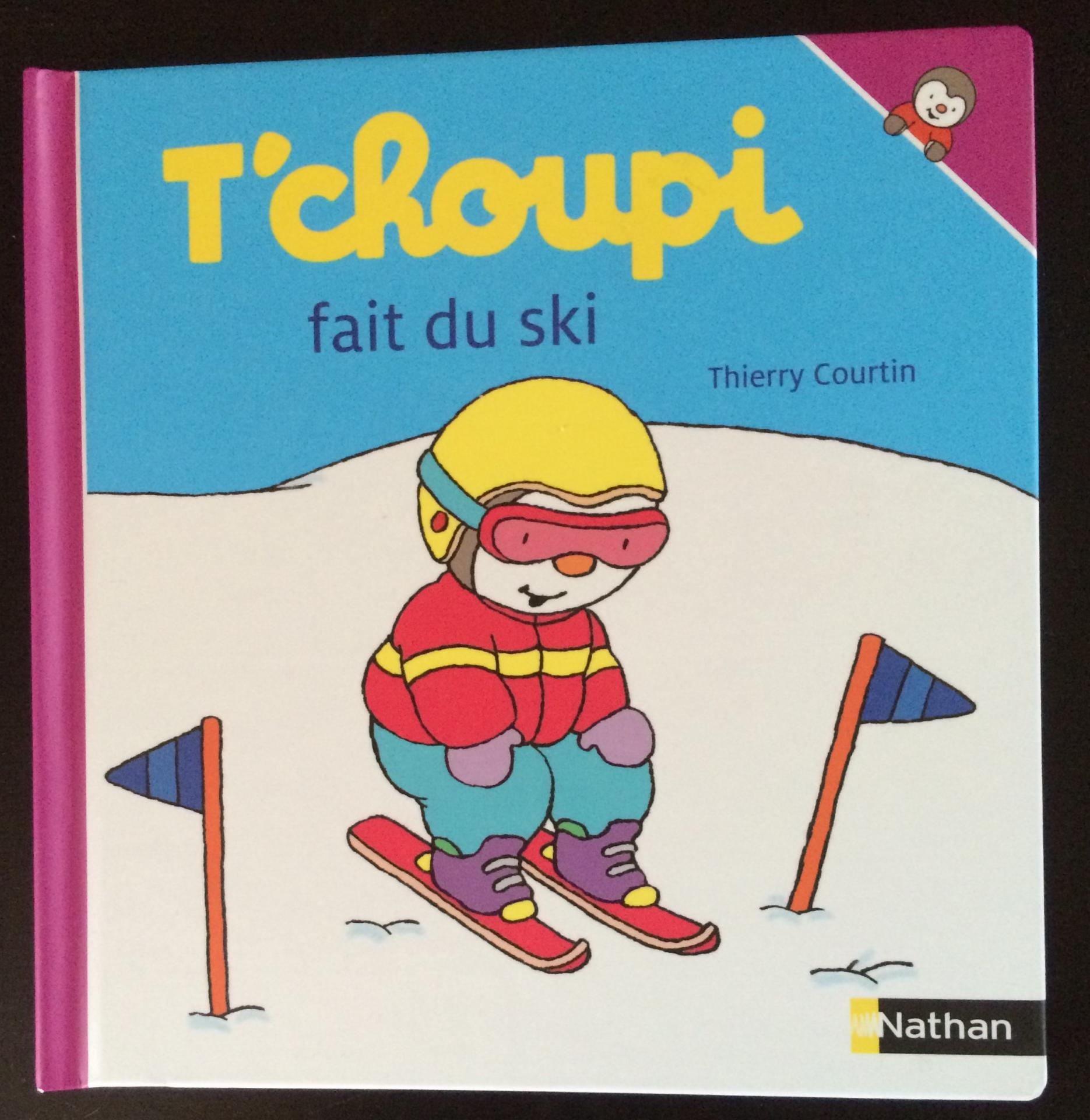 T'choupi fait du skide Thierry Courtin.