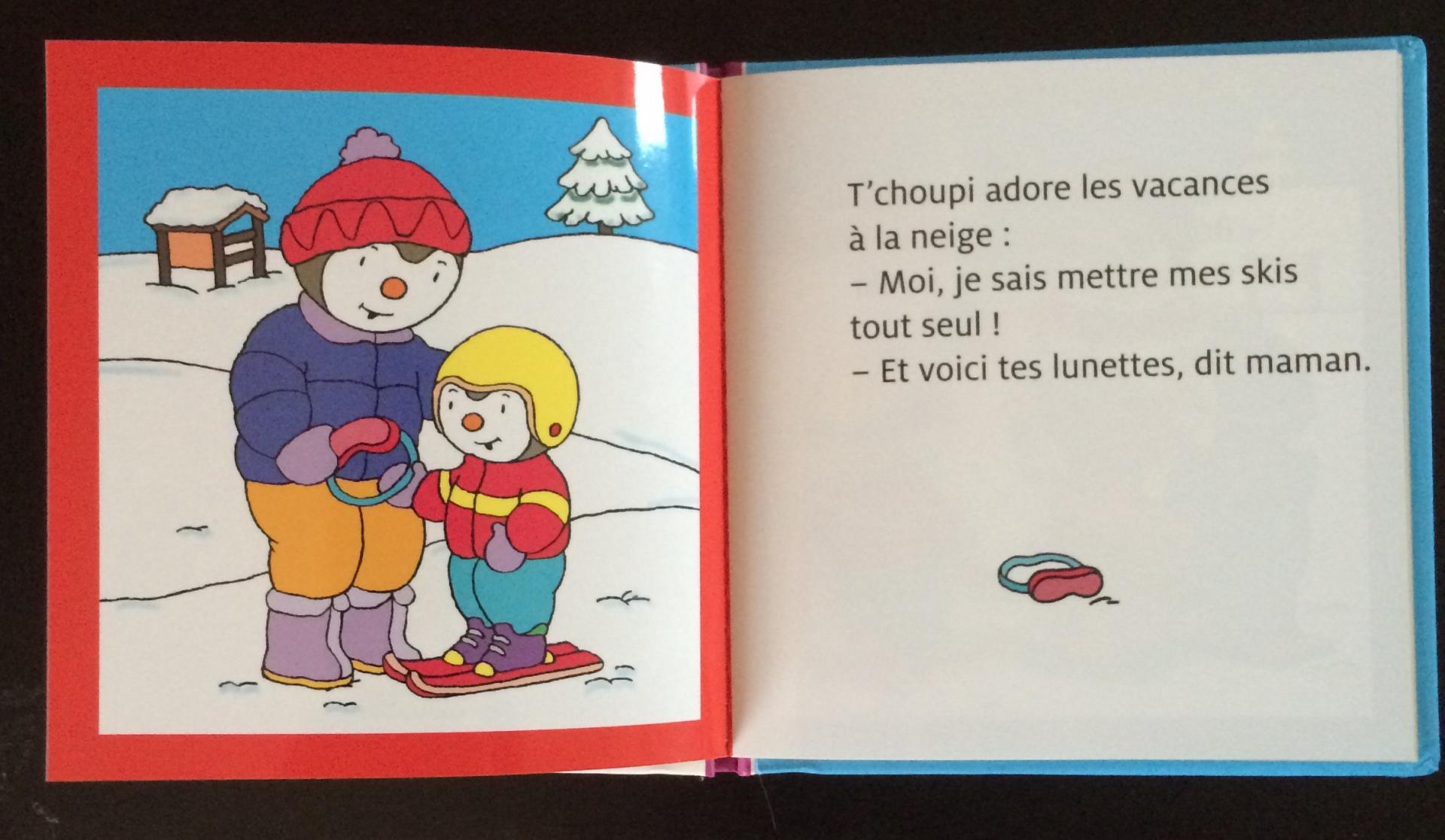 T'choupi fait du ski extrait