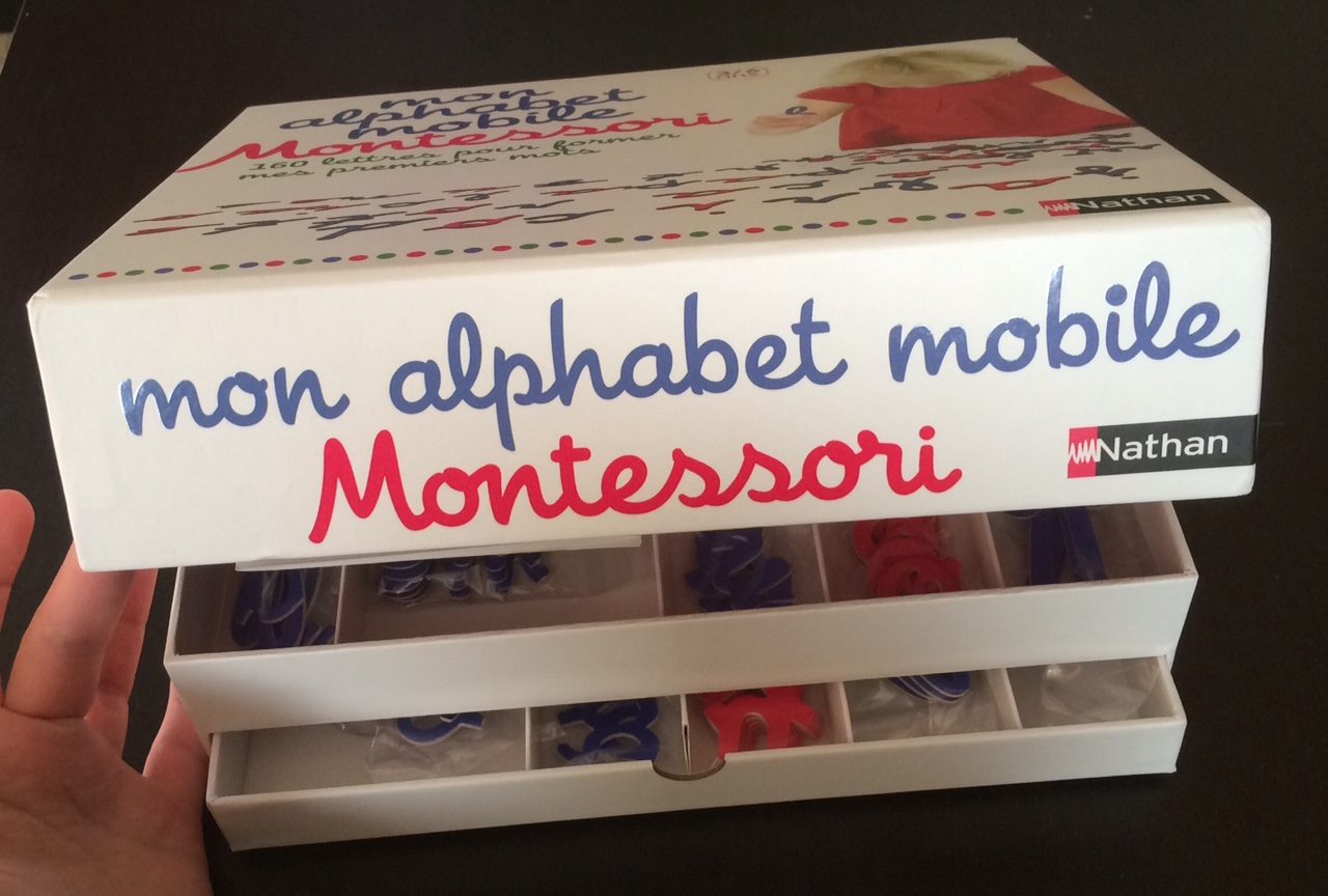Mon alphabet mobile Montessori