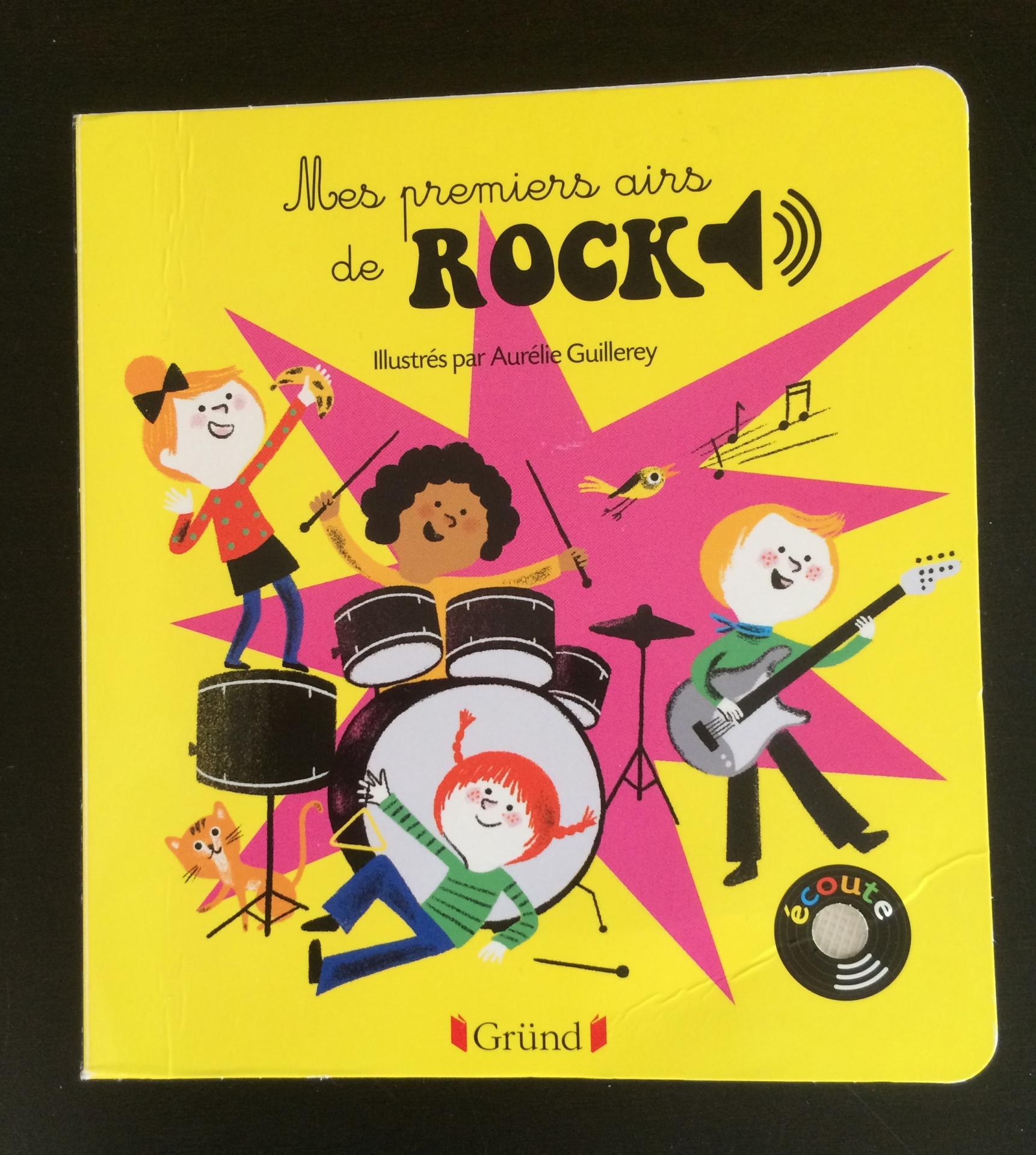 Mes premiers airs de Rock.