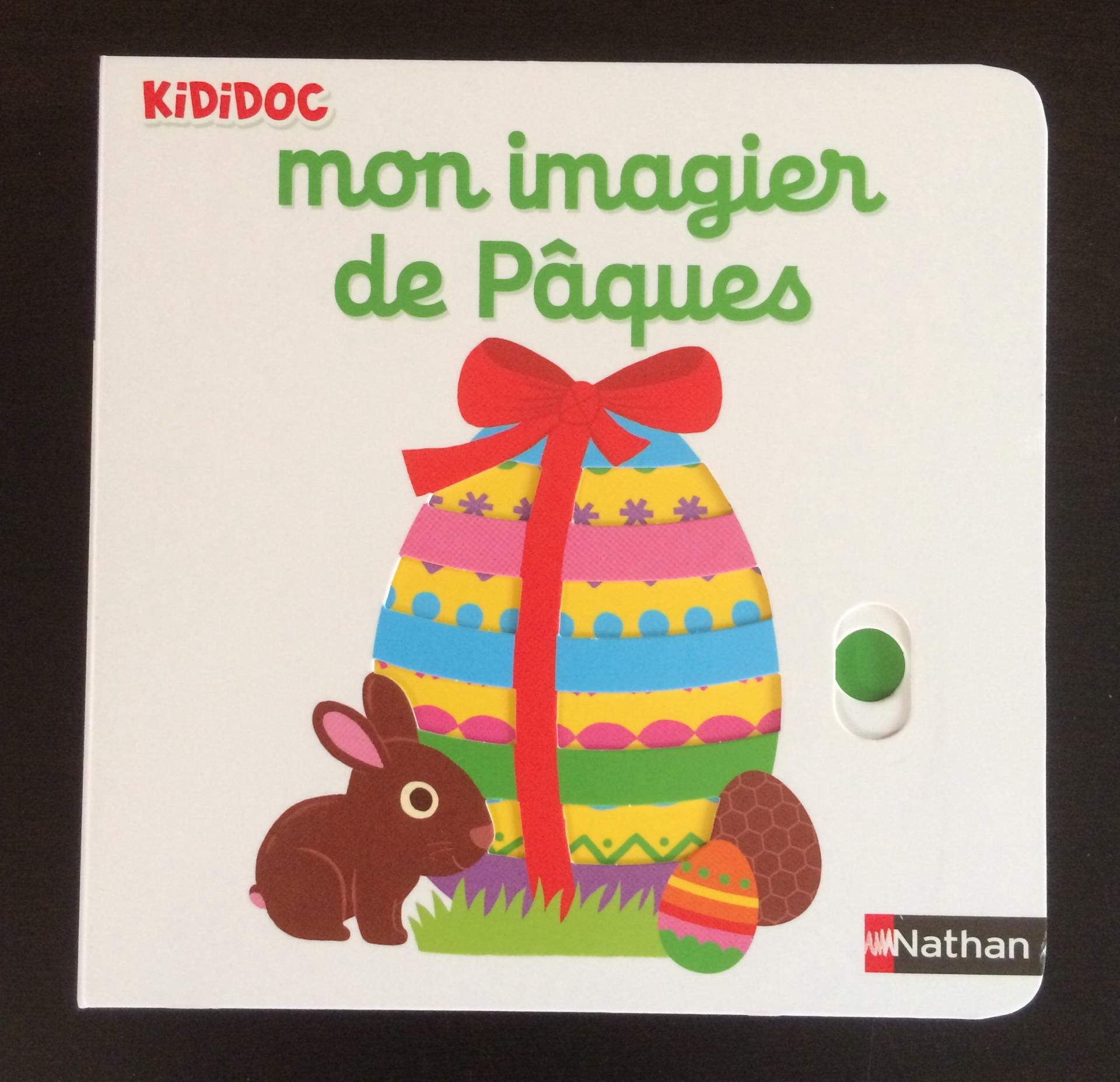 Mon imagier de Pâques.